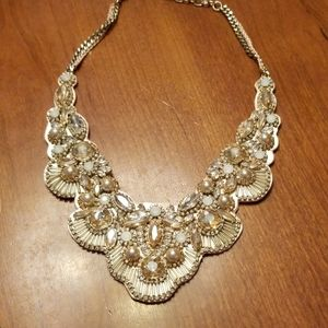 Chloe and Isabel Jolie bib statement necklace